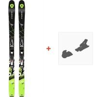 Ski Dynastar Powertrack 89 Fluid X+ SPX 12 Fluid B90 Black Chrome 2017**