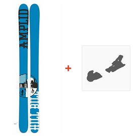 Ski Amplid The Hill Bill 2015 + Fixation de skiA-30000