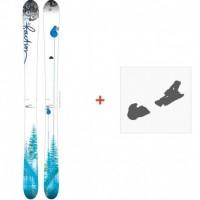 Ski Faction Supertonic 2015 + Skibindungen