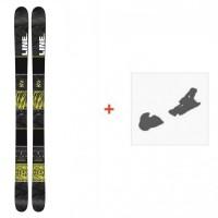 Ski Line Gizmo 2016 + Skibindungen