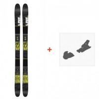 Ski Line Tigersnake 2016 +  Fixation de ski
