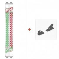 Ski Line Afterbang 2016 + Ski Bindings