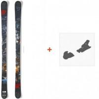 Ski Nordica Badmind 2015 + Skibindungen