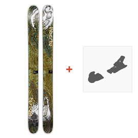 Ski Liberty Double Helix 2014 + Ski Bindings