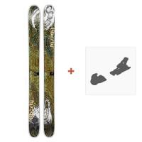 Ski Liberty Double Helix 2014 + Skibindungen