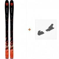 Ski Dynastar Powertrack 84 2017 + Fixation de skiDRF02H3