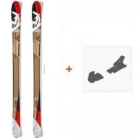 Ski Nordica Peshewa 2016 avec Fixation de ski0A426000.001