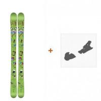 Ski Line Future Spin Shorty 2016 + Fixation de ski