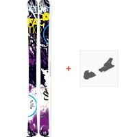 Ski Faction Dillinger 2013 + Skibindungen
