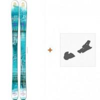 Ski Salomon Q-83 Myriad 2016 + Fixation de ski