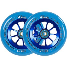 River Glide Wheels 2-Pack Complete 2018TGRVWHGL10BL