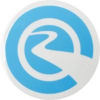 River Wheel Round Small Sticker 2016