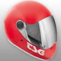 TSG Pass Solid Fire Red Satin 2017E79020-138