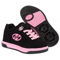 Chaussures Heelys X2 Dual Up Schwarz / Pink 2016770231