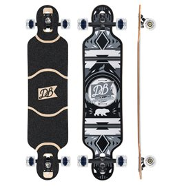 "DB Longboards Urban Native Black and White 38\"" / CompleteDBLON15448"