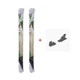 Ski Nordica Wildfire 2015 + Fixation de ski0A422200.001