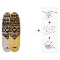 "Skateboard Fibretec Mini Tool 26.22\\"" - Complete(Axes et roues à choisir) 2016"