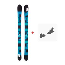 Ski Scott Punisher 110 2017 + Fixation de ski244230