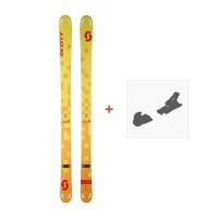 Ski Scott Cascade 95 2017 + Fixation de ski244238