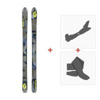 Ski Scott Superguide 88 2017 + Fixations randonnée + Peau244236