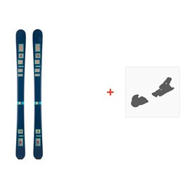 Ski Scott The Ski 2016 + Fixation de ski239670
