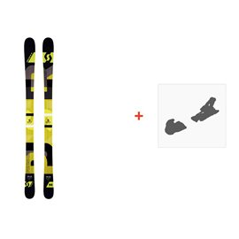 Ski Scott Punisher 95 2016 + Fixation de ski239676
