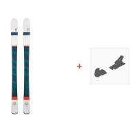 Ski Scott Luna 2016 + Fixation de ski239673