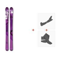 Ski Faction Agent 100W 2017+ Fixations randonnée + Peau
