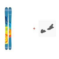 Ski Line Pandora 95 2017 + Fixation de ski19A0201.101