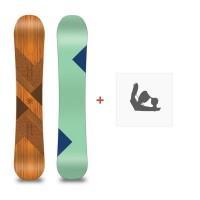Snowboard Loaded Algernon 2016 + Bindungen