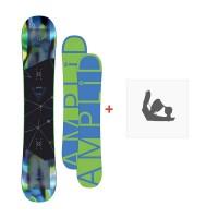 Snowboard Amplid HIFI 2016 + FixationA-150102