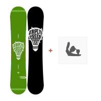 Snowboard Amplid Green Light 2013 + Bindungen