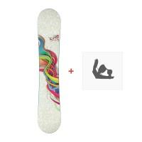 Snowboard Elan Aurora 2013 + Fixation