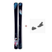 Coreupt Young Gun S 2012 + Fixation de ski