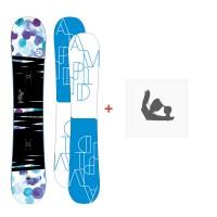 Snowboard Amplid Gogo 2016 + FixationA-150111