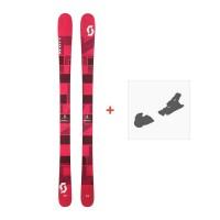 Ski Scott Punisher 95 W 2017 + Fixation de ski244232