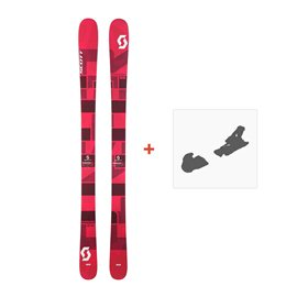 Ski Scott Punisher 95 W 2017 + Fixation de ski244232