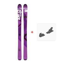 Ski Faction Agent 100W 2017 + Fixation de ski