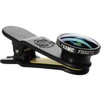 Black Eye Full Frame Fish Eye Lens 2017