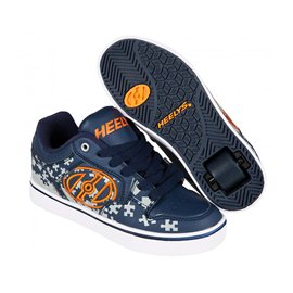 Heelys Chaussures Motion Plus Navy/Grey/Orange 2017770816