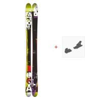 Ski Faction Silas 2015 + Skibindungen