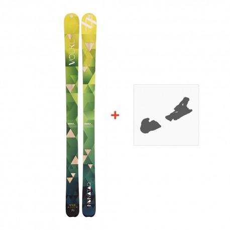 Ski Volkl Nunataq 2017 + Fixation de ski115300