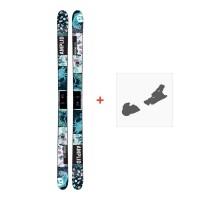 Ski Amplid Provoke 2017 + Ski bindungenA-160203