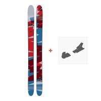Ski Amplid Rockwell 2017 + Ski bindungenA-160204