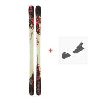 Ski Dynastar 6th Sense Superpipe + Ski bindingsDA9TG04
