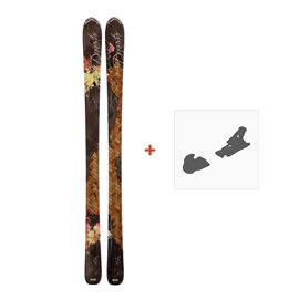 Ski Dynastar Exclusive Eden + Look NX 11 Fluid 2011