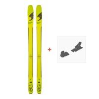 Ski Blizzard Zero G 85 2018 + Fixation de ski 8A614900.001