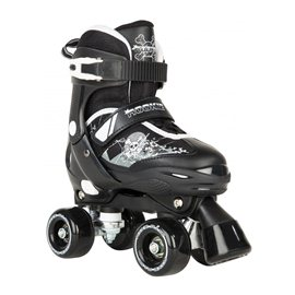 Rookie Adjustable Skate Pulse Junior Black/White 2017RKE-SKA-0015