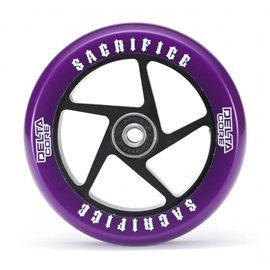 Sacrifice Wheels Delta Core (w/Bearings) Purple Black 2017