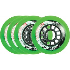 Powerslide Hurricane Green Wheel 4-pack 2017905193